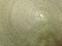 Сплетенная спиралью текстура циновки Стоковые Изображения