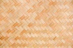 Сплетенная Wicker предпосылка текстуры Стоковое Изображение