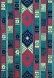 сплетенное тканье руки Бутана предпосылки Стоковые Фотографии RF
