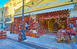 Сплетенные аксессуары в Ширазе, Иране Стоковое Изображение