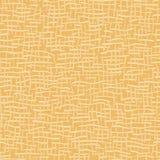 Сплетенный желтый цвет картины вектора текстуры мешковины безшовный Иллюстрация штока