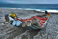 Сплоток на пляже стоковое изображение