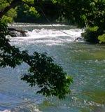 спокойная вода Стоковая Фотография