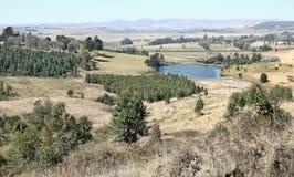 спокойная долина Стоковые Изображения RF