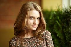 Спокойная девушка Стоковая Фотография RF