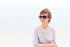 Спокойная женщина Стоковые Фотографии RF