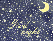 Спокойная ночь Стоковое фото RF
