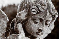Спокойная статуя Анджела Стоковое Изображение RF
