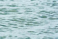 Спокойная текстура пульсации воды океана Стоковая Фотография