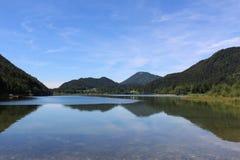 Спокойное озеро в Austira Стоковая Фотография