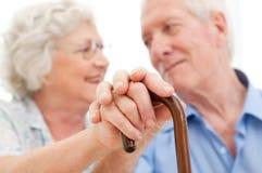 спокойное пар старшее Стоковое фото RF