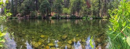 Спокойное река в национальном парке Yosemite Стоковые Фотографии RF