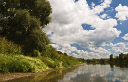 Спокойное река Стоковая Фотография
