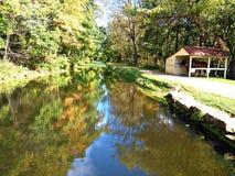 Спокойное река Стоковое Изображение