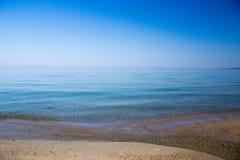 Спокойное Средиземное море Стоковое Фото