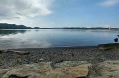 Спокойный берег сланца Стоковое фото RF