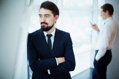 Спокойный бизнесмен Стоковое Изображение