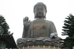 Спокойный бронзовый Будда Стоковая Фотография RF