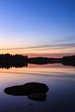 Спокойный взгляд спокойного озера Стоковая Фотография RF
