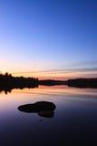 Спокойный взгляд спокойного озера Стоковые Изображения