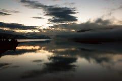 Спокойный восход солнца Стоковые Фото