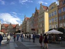 Спокойный европейский квадрат Стоковая Фотография RF