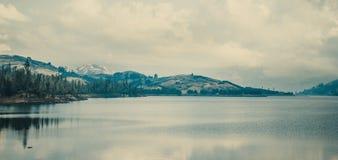 Спокойный ландшафт в Cochabamba Боливии Стоковое Изображение RF