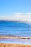 Спокойный seascape Атлантического океана Стоковые Фото