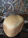 r Утро Хлеб Спокойствие завтрака стоковая фотография