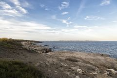 Спокойствие моря стоковые фотографии rf