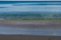 Спокойствие пляжа Waialea стоковые изображения