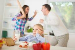 спорить беременные женщины семьянина конфликта Стоковые Изображения RF
