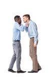 Спорить 2 бизнесменов Стоковые Изображения RF