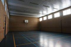 Спортзал тюрьмы Стоковое Фото