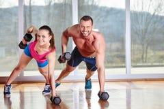 Спортзал фитнеса Стоковые Изображения RF