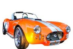 спортивная машина Форда cabrio 0range стоковая фотография rf