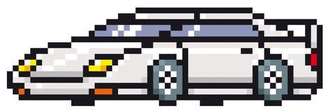 Спортивная машина шаржа Стоковое фото RF