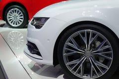 Спортивная машина Audi стоковое фото