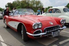 Спортивная машина Chevrolet Corvette (C1) Стоковые Фотографии RF
