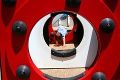 спортивная площадка девушки Стоковое Изображение RF