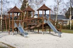 спортивная площадка детей Стоковая Фотография
