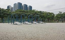 спортивная площадка лисицы летания стоковое изображение