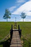 спортивная площадка моста Стоковые Фото