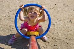 спортивная площадка ребенка Стоковые Фотографии RF