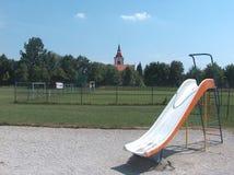спортивная площадка Стоковые Фото