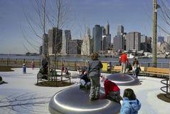 спортивная площадка york brooklyn новая Стоковые Фотографии RF
