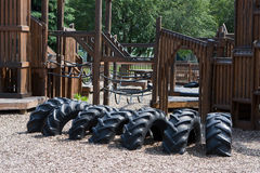 спортивная площадка childs Стоковое Фото