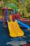 Спортивная площадка в парке Стоковые Изображения