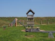 Спортивная площадка Германия детей стоковое изображение