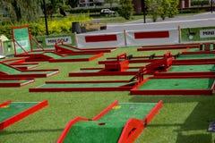 спортивная площадка детей цветастая Стоковые Изображения RF